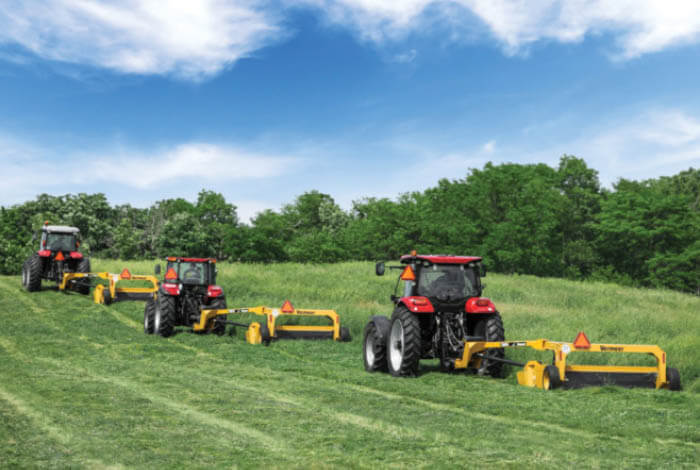 10-series small trailed mowers get the job done
