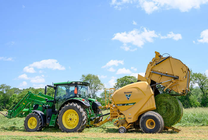 Rancher creates new efficiencies with Vermeer lineup