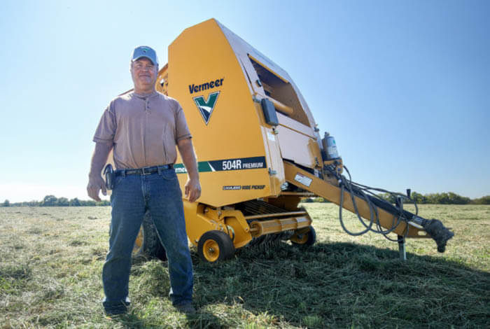 Why Jeff Jones switched to the 504R Premium baler
