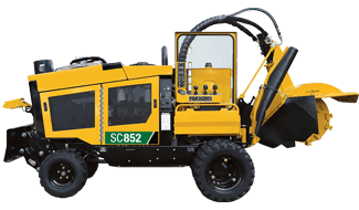 SC852 Stump Cutter