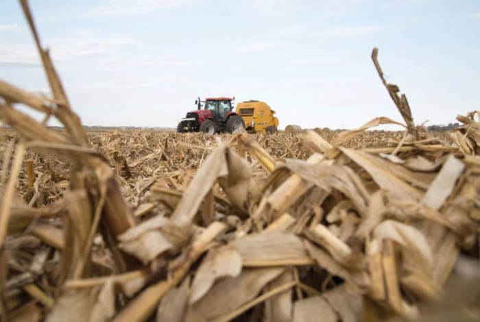 Equipment considerations when baling corn stover