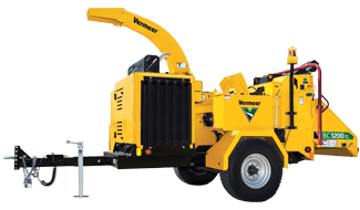 BC1200XL Gas Brush Chipper