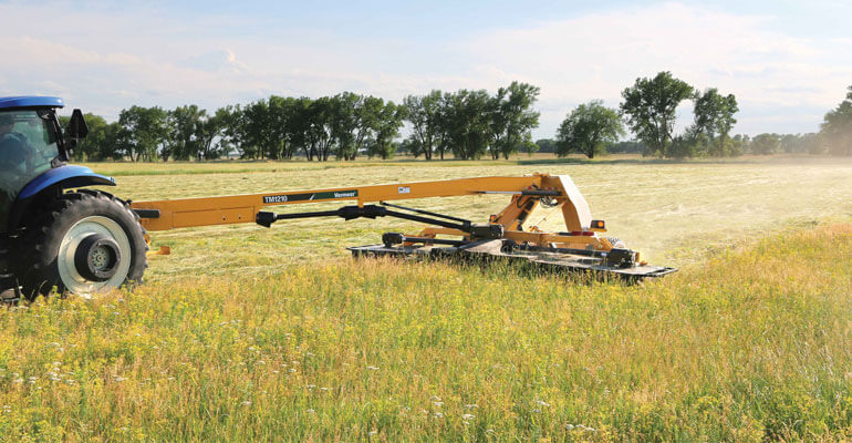 Complete lineup of hay and forage tools