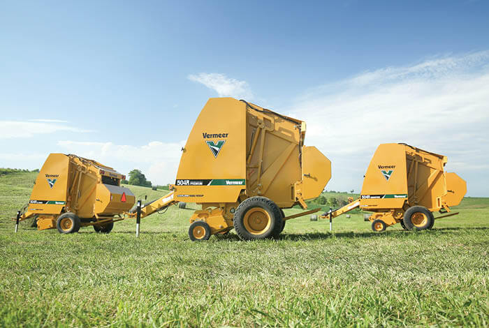 504 R-series balers meet product needs