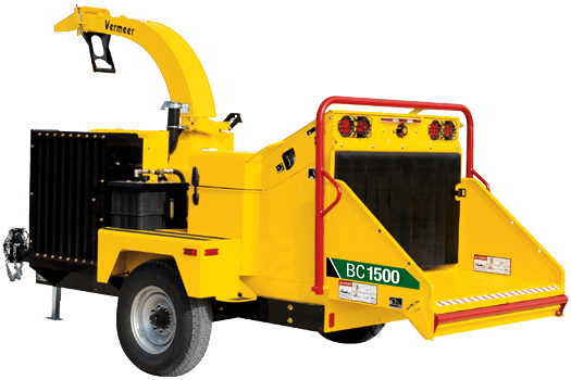 BC1500 Tier 3 Brush Chipper