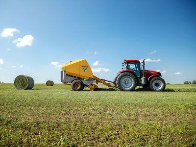 Baler, Tedders Create New Silage Baling Efficiencies