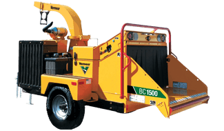 BC1500 Tier 4i (Stage IIIB) Brush Chipper