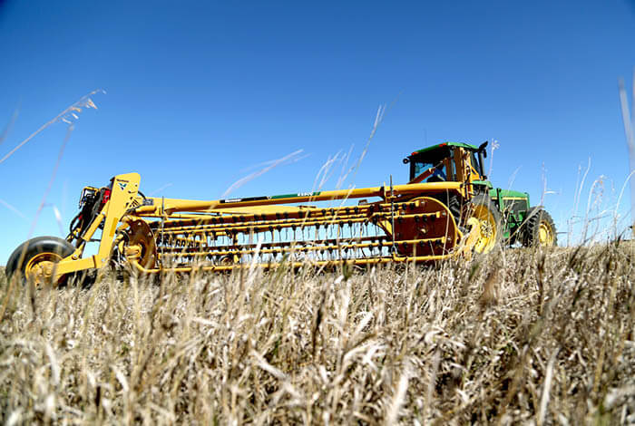 Why Jerry Kuhbacher switched to the Vermeer 2800 twin rake