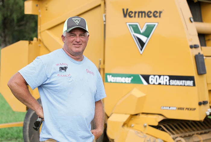 Why Danny Wann switched to the Vermeer 604R Classic baler