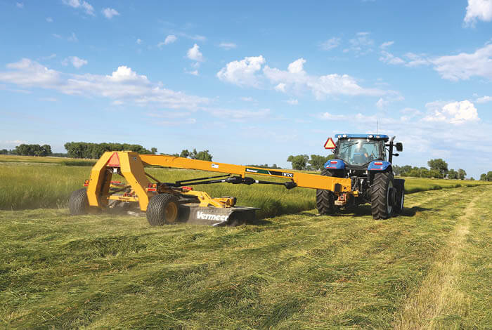 The lowdown on mowing hay