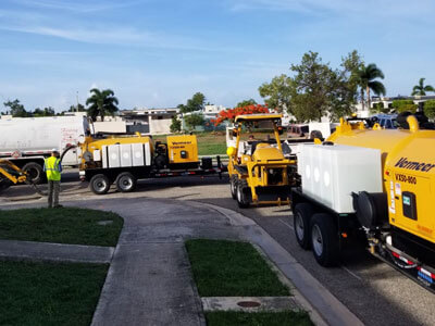 Vermeer Total Equipment is equipping Puerto Rico's telecom industry with machines to move utilities underground
