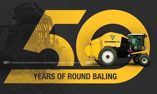 Vermeer celebrates 50 years of the large round baler