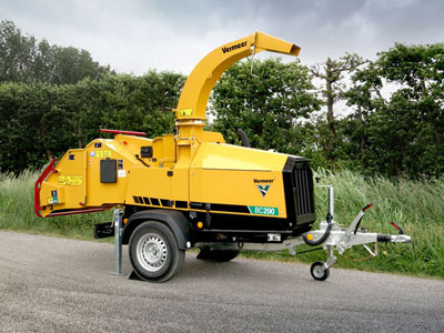 Vermeer introduces BC200 brush chipper specifically for European market