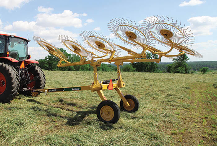 The right hay rake for the job